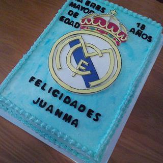 CAKE SHIELD REAL MADRID