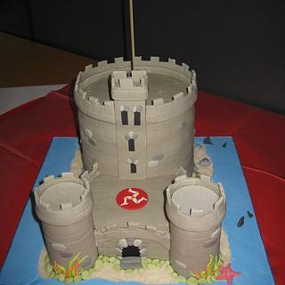 Tower of Refuge, Isle of Man - Cake by Deborah Cubbon (the4manxies)