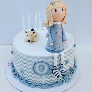 Gorjuss angel cake