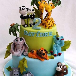 zvířátkový - Cake by Táji Cakes