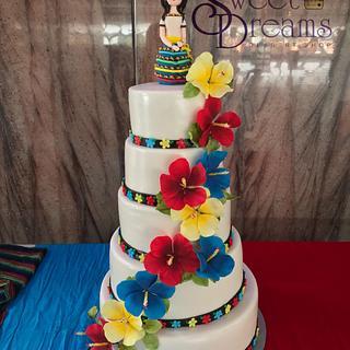 Tabasqueña cake