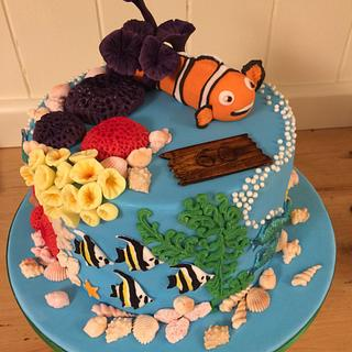 Nemo ocean coral reef