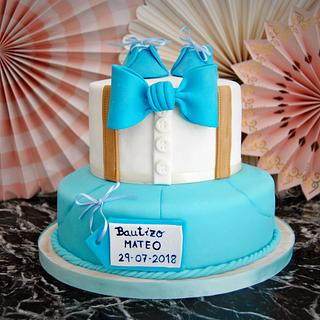 Christening cake child