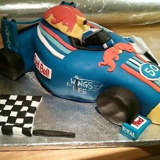 Red Bull Racing Car