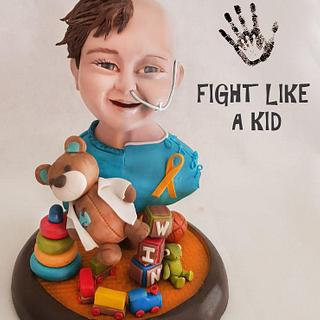 FIGHT LIKE A KID (Amore - a collaboration with heart)