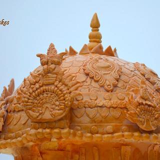 Temple cake  - Cake by Divya iyer