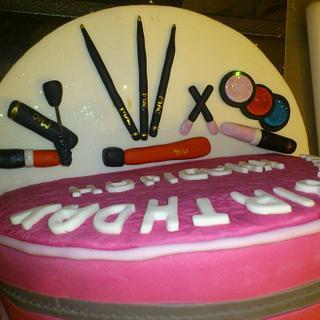 Birthday Cake - Cake by Ninas Cakes