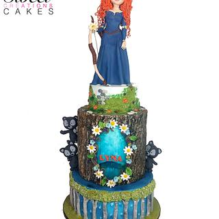 Brave themed birthday cake - Cake by Sweet Creations Cakes