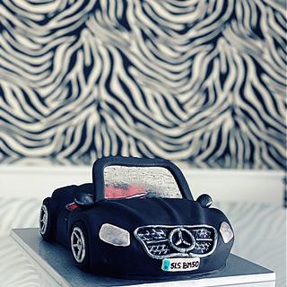 3D Mercedes Cake