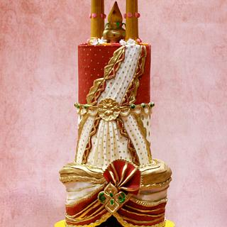 Traditional Indian Wedding Cake