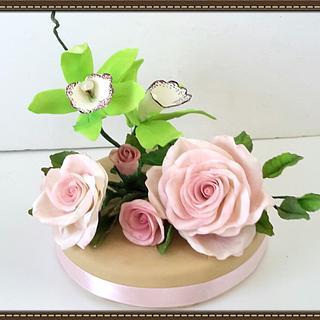 Flowers - Cake by Ana Cristina Santos