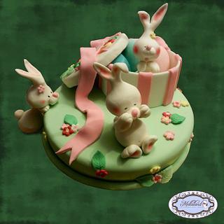 """""""Hide and seek"""" cake  (Torta """"Nascondino"""")"""