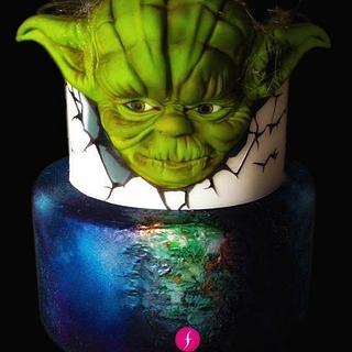 YODA GRAND MASTER - Cake by Francesca Speranza - Sugar Artist