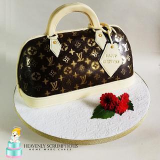 LV handbag cake :)