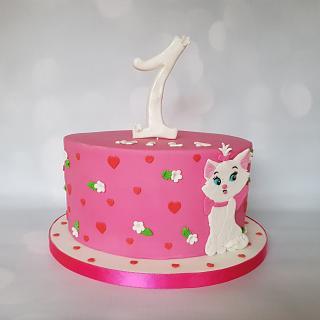 Aristocats Marie - Cake by Jennifer-You cake