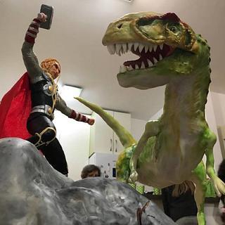 Thor Vs Allosaurus