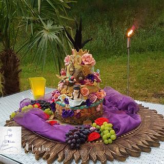 Kinky over the top cake