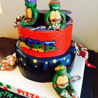 Icing Smiles Ninja Turtle Cake