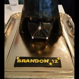 Dark Vador cake