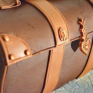 Leather Case Cake