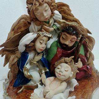 Nativity cake - Cake by N SUGAR ART