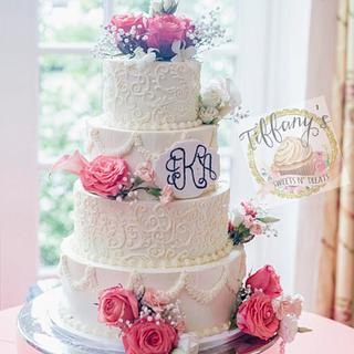 Traditional Vogue Buttercream Cake