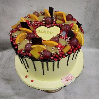 Fresh and Fruity  - Cake by Michelle's Sweet Temptation