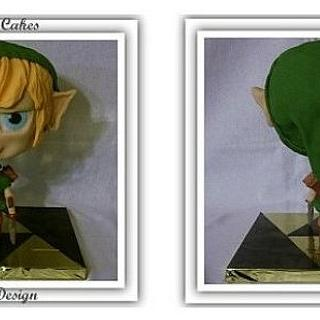 Young Link from the Legend of Zelda series.