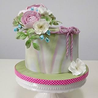Pastel cake  - Cake by MOLI Cakes