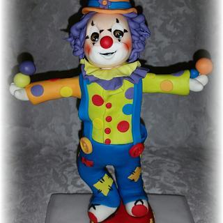 An Adorable Clown - Cake by Alina