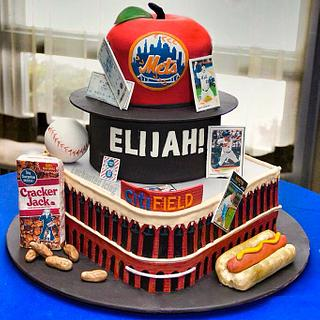Let's Go Mets! Cake - Cake by Enchanted Icing