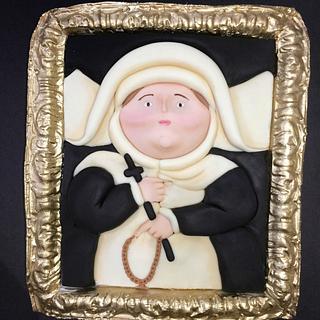 """""""La Monja"""" - Fernando Botero / Botero Challenge by Bakerswood"""