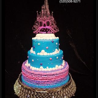 Castle Topper Princess Cake