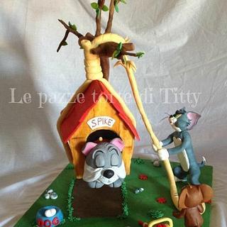 Tom & Jerry - Cake by Titty
