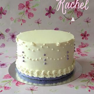 Delicate Wedding - Cake by Rachel~Cakes