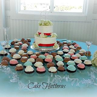 Starfish and Sand Dollars - Cake by Donna Tokazowski- Cake Hatteras, Hatteras N.C.