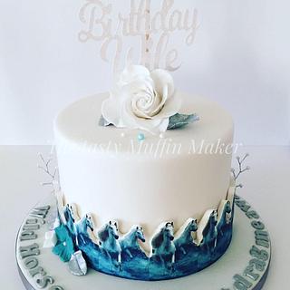 Wild horses cake