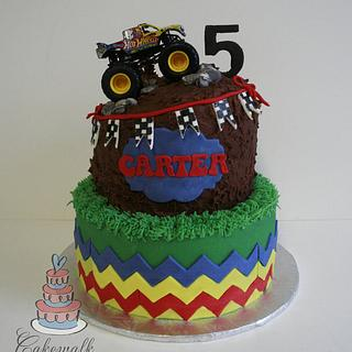 Monster Truck cake - Cake by Heather
