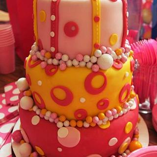 """Bubble"" Cake"