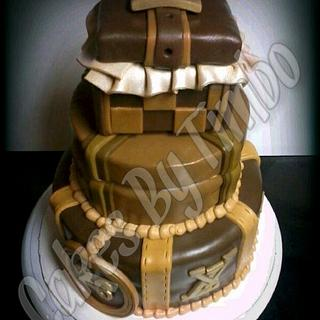 LV Tier Cake! - Cake by Timbo Sullivan