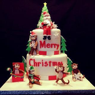 Merry Christmas Monkeys