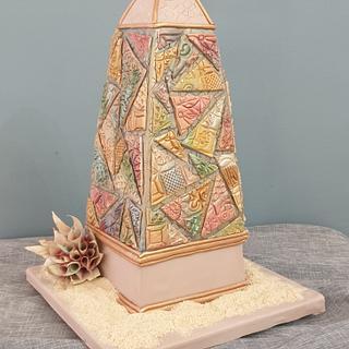 Obelisk cake