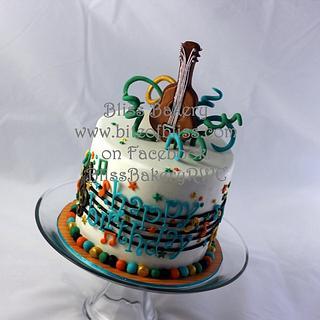 Music Themed Cake