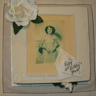 Vintage photo cake - Cake by Cristi