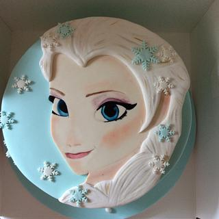 Another frozen cake :) - Cake by Martina Kelly