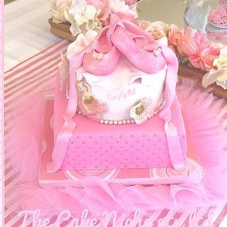 Baby Ballerina Baby shower
