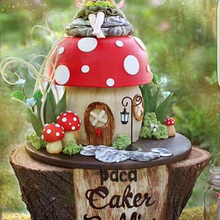 PDCA Caker Buddies Dessert Table Collaboration - Woodland Magic