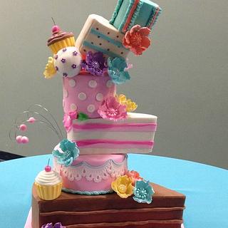 Marina Sousa Inspired Cake