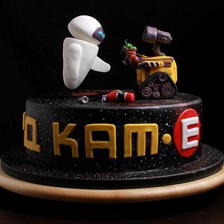 Wall-e Cake - Cake by Lili Brankova