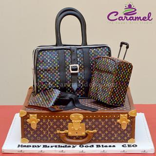 Louis Vuitton Lover Cake! - Cake by Caramel Doha